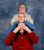 3 поколения Стоковые Изображения