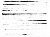 3 полных линии страница Стоковая Фотография