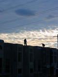 3 рабочий-строителя Стоковое фото RF