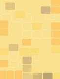 3 ретро квадрата Стоковые Изображения RF