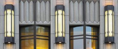3 светильника стены Стоковые Изображения