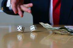 3 серии азартной игры дела Стоковое Изображение