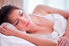 3 серии спать Стоковые Изображения RF