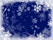 3 снежинки Стоковые Изображения