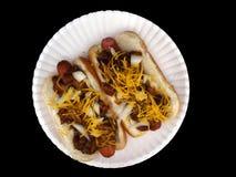 3 собаки chili Стоковые Фото