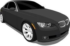 3 спорта серии coupe bmw иллюстрация вектора