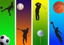3 спорта Стоковое Изображение RF