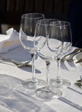 3 стекла вина Стоковые Фото