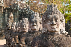 3 стороны angkor стробируют южное thom Стоковые Изображения RF