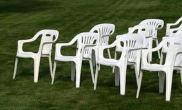 3 стула опорожняют Стоковые Изображения RF