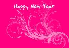 3 счастливых Новый Год Стоковые Изображения