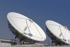 3 тарелки спутниковой Стоковое фото RF