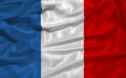 3 флаг Франция Стоковое Изображение RF