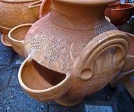 3 формы глины Стоковая Фотография