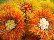 3 цветка handmade Стоковые Изображения