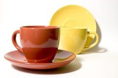 3 чашки Стоковое Изображение