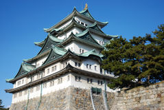 3 японца замока Стоковая Фотография