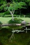 3 японца сада стоковые изображения
