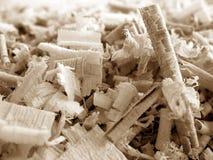 3 древесина shavings v2 Стоковая Фотография RF