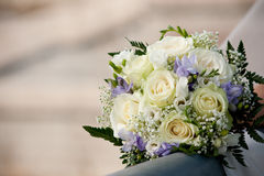 3花束婚礼 免版税库存图片