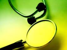 3听诊器 免版税库存照片