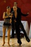 3 14 15场比赛开放舞蹈的拉丁 库存图片