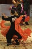 3 16 18场比赛舞蹈开放标准 免版税库存照片