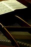 3小型三角钢琴于 库存图片