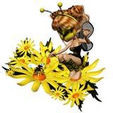 3蜂 免版税库存图片