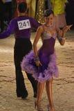 3 19 35场比赛开放舞蹈的拉丁 图库摄影