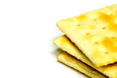 3个薄脆饼干 免版税库存图片