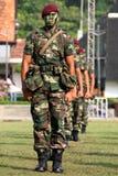3 2006个生日6月马来西亚国王游行 免版税库存图片