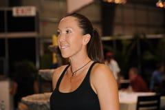 3 2009个杯子海伦娜jankovic罗杰斯 免版税库存照片