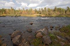 3 2009年芬兰拉普兰 库存照片