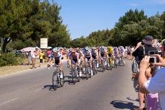 3 2009 etapp för de france turnerar Royaltyfri Fotografi