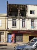 3 2010年智利地震2月瓦尔帕莱索 免版税库存照片