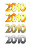 3 2010 Στοκ Εικόνες
