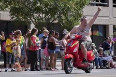 3 2012年城市6月湖游行自豪感盐犹他 库存图片