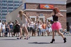 3 2012 miasta Czerwiec jeziornych parady dumy soli Utah Zdjęcie Royalty Free