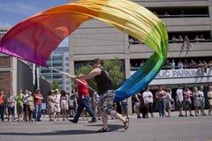3 2012 miasta Czerwiec jeziornych parady dumy soli Utah Zdjęcia Stock