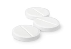 изолированные таблетки 3 Стоковое фото RF