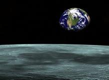 3太空旅行 库存照片