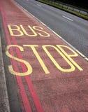 Автобусная остановка 3 стоковая фотография rf