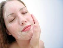 лицевое мытье 3 стоковые фотографии rf