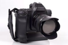 3 35mm自动照相机重点slr 免版税库存图片
