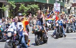 纽约同性恋自豪日3月 库存图片