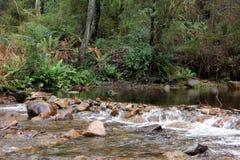 山小河维多利亚澳大利亚3 库存图片