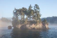Олимпийское побережье 3 полуострова Стоковое фото RF