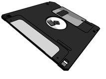 3.5 à disque souple Photo libre de droits