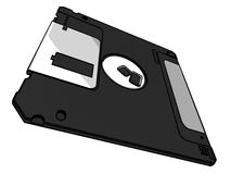 3.5 floppy disk Stock Photography